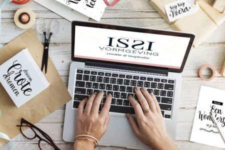 ISSI vormgeving webshop
